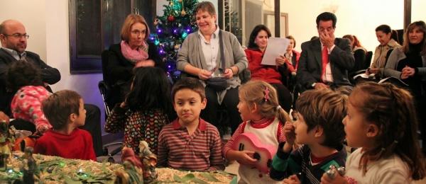 Embajada de Colombia en Nueva Delhi celebra la navidad