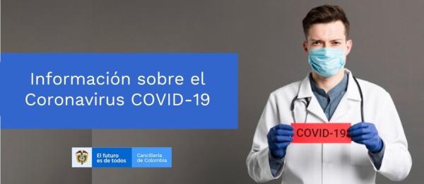 Consulado de Colombia en Nueva Delhi publica los anuncios del Gobierno de la India ante la situación del COVID