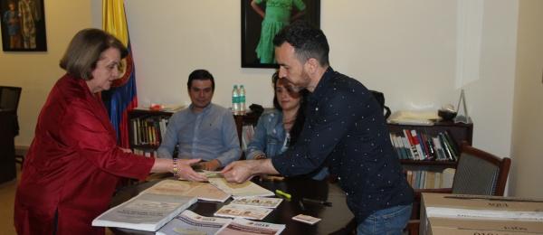Consulado de Colombia en Nueva Delhi inició la jornada final del proceso electoral en el exterior para Congreso y consultas interpartidistas 2018